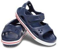 Crocs Kids Crocband ll Sandal Childrens Beach Navy / White